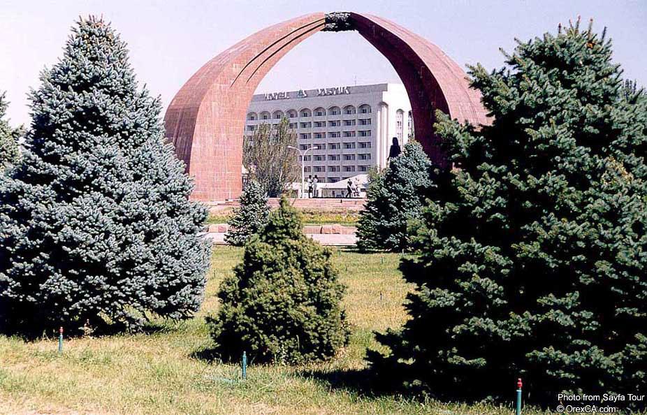Монумент Победы, Бишкек