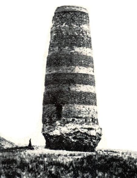 Башня Бурана. Снимок конца XIX в.