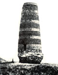 Burana Tower. Photo of end 19th c.