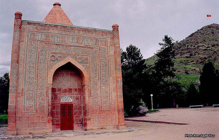 Мавзолей Манаса, Великий Шелковый путь в Кыргызстане