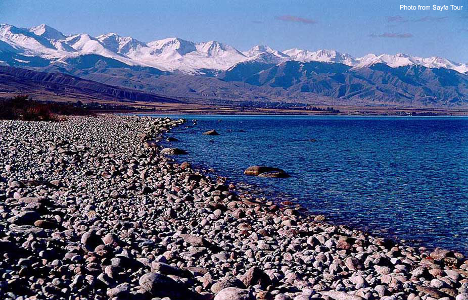 Pictures of Lake Son Kul