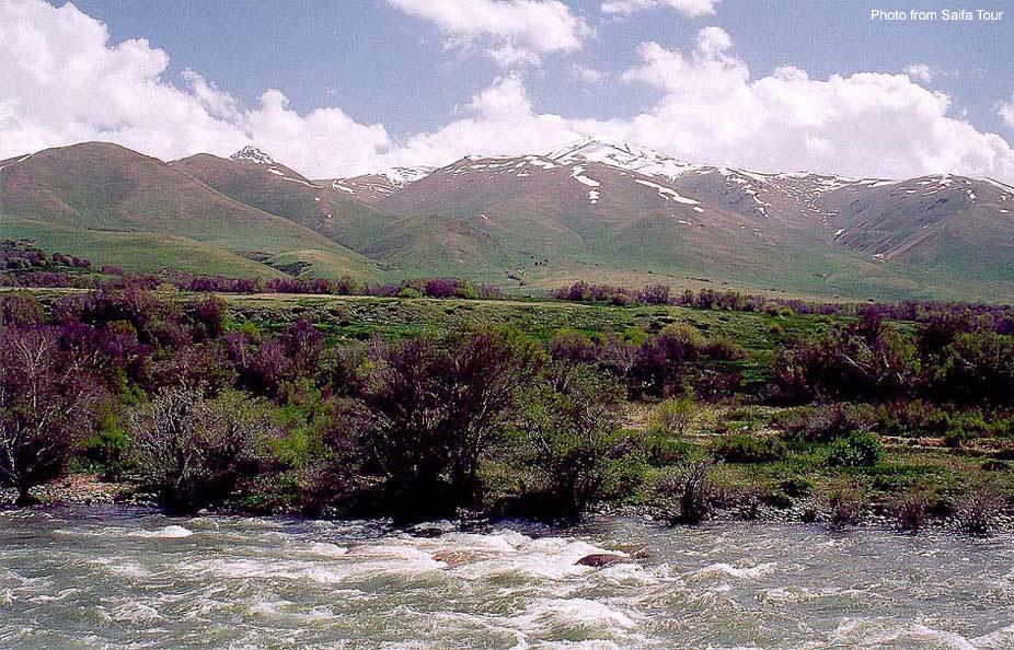 Реки и озёра Кыргызстанаn