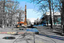 Photos of Bishkek monuments